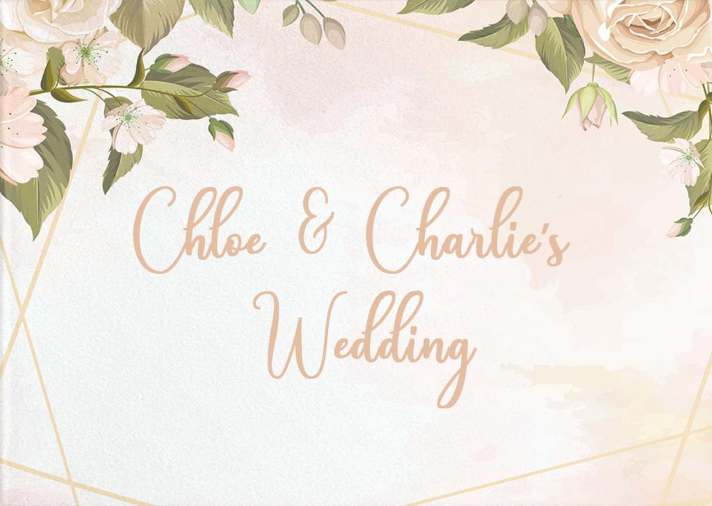 Chloe & Charlie's Wedding